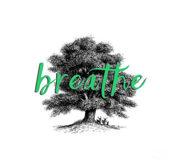 Wall Art - Photograph - Breathe Shirt by Edward Fielding
