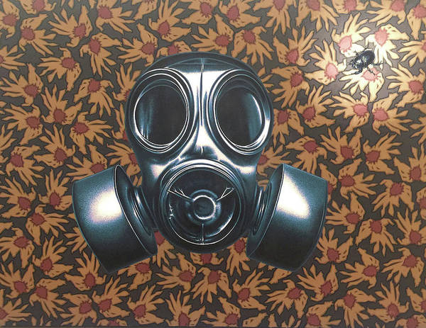 Mask Painting - Breathless by Stephen Hall