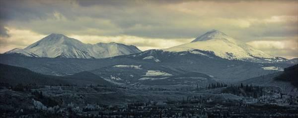 Photograph - Breckenridge Colorado Cool Blue by Dan Sproul