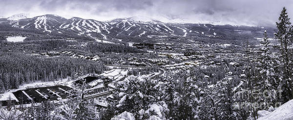 Photograph - Breckenridge Ski Area by Bitter Buffalo Photography