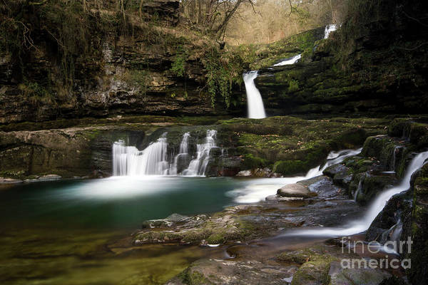 Wall Art - Photograph - Brecon Beacons Waterfalls by Angel Ciesniarska