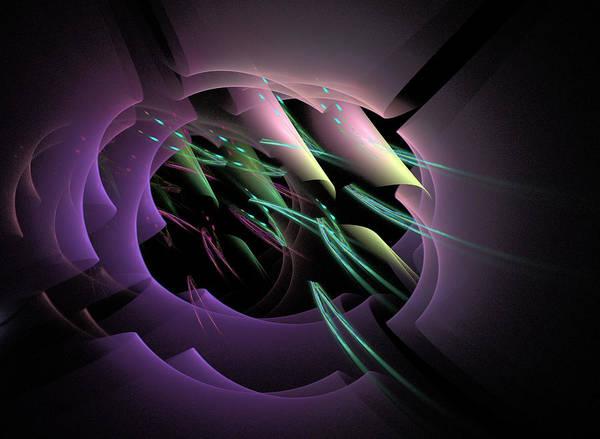 Harp Digital Art - Breeze by Phil Sadler