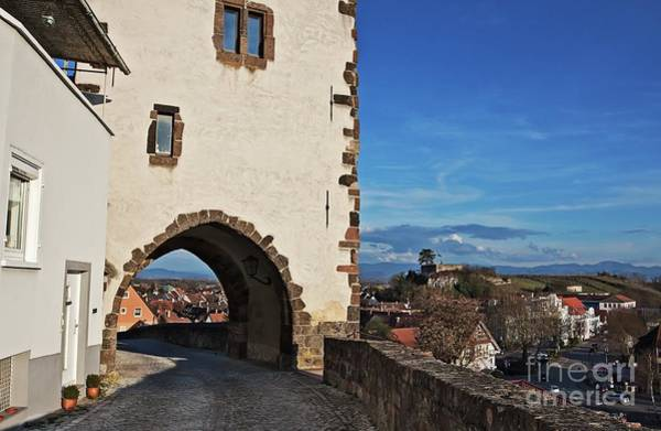 Photograph - Breisach Medieval Tower by Tatiana Travelways