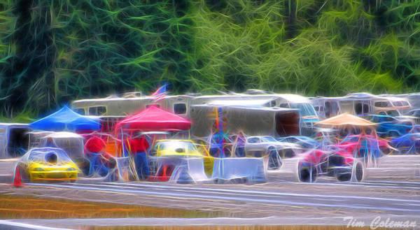 Mark Coleman Wall Art - Photograph - Bremerton Raceway by Tim Coleman