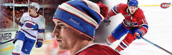 Montreal Canadiens Digital Art - Brendan Gallagher Artwork by Nicholas Legault