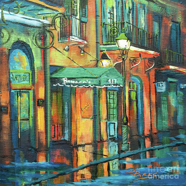 Wall Art - Painting - Brennan's by Dianne Parks
