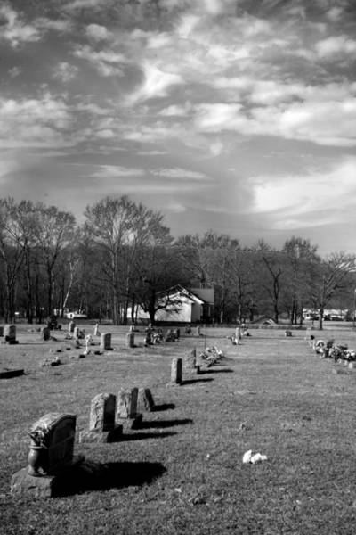 Photograph - Brentway-cemetery by Curtis J Neeley Jr