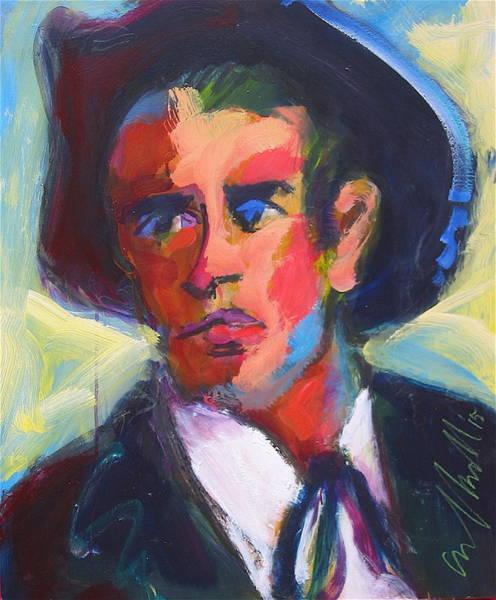 Painting - Bret Maverick by Les Leffingwell
