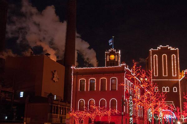 Photograph - Brewery Lights by Steve Stuller