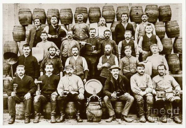 Flapper Photograph - Brewery Men by Jon Neidert