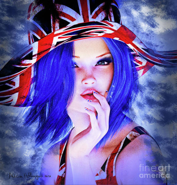 Digital Art - Brexit by Alicia Hollinger