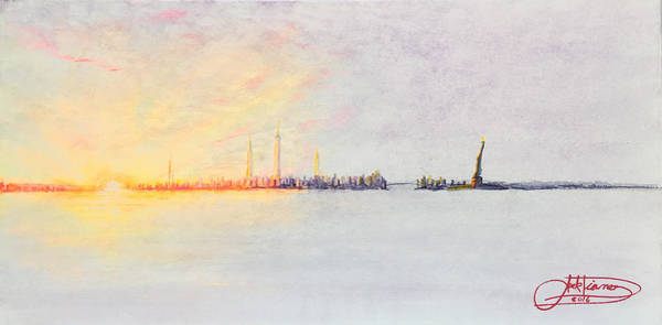Painting - Brialliant Sunset by Jack Diamond