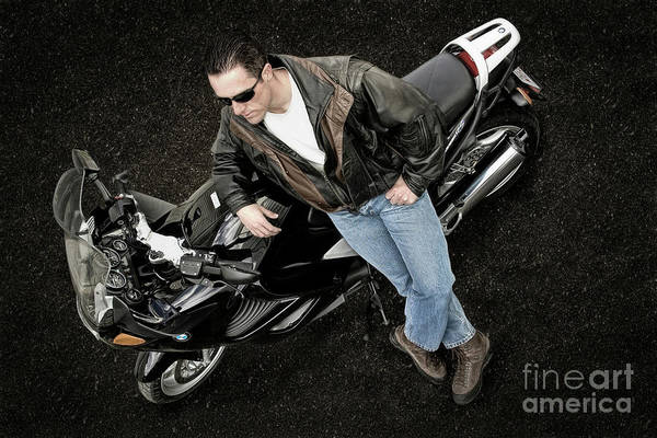 Photograph - Brian And His Bmw by Brad Allen Fine Art