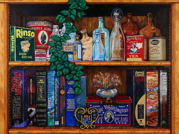 Wall Art - Painting - Bric Brac And Browse by Rich Travis