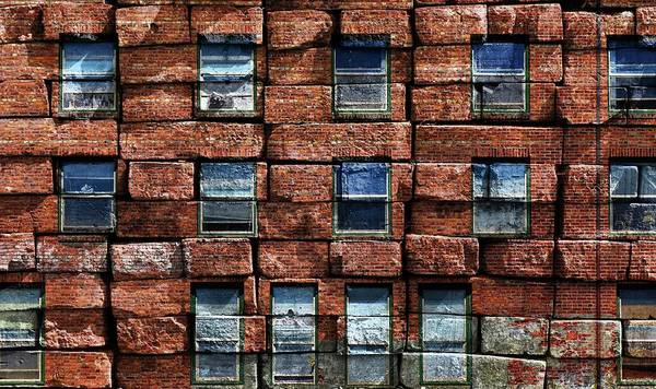Photograph - Brick-a-brick by Rick Lawler