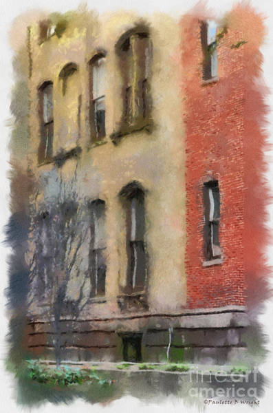 Photograph - Brick Alley by Paulette B Wright