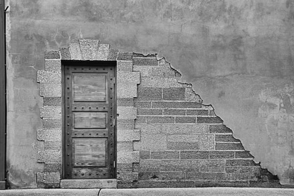 Wall Art - Photograph - Brick And Door by Greg Waters