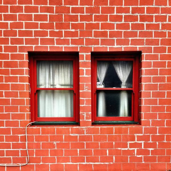 Wall Art - Photograph - Brick And Windows by Julie Gebhardt