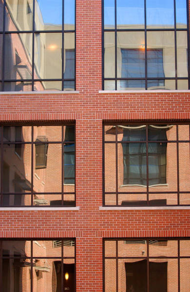 Photograph - Brick Building by Jill Reger