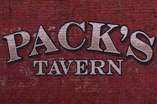 Photograph - Brick Painted Pack's Tavern by Carol Montoya