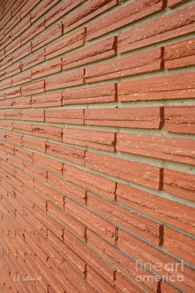 Photograph - Brick Wall 1 by E B Schmidt