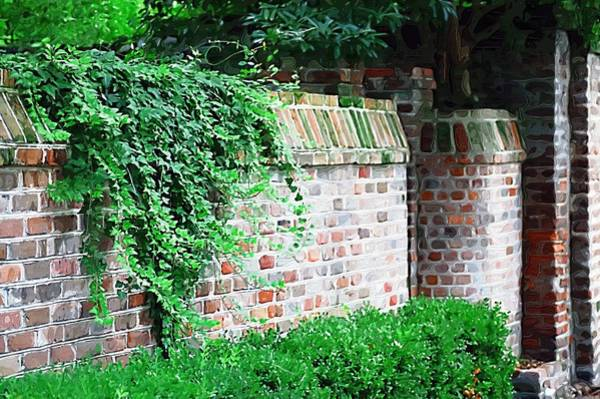 Photograph - Brick Wall by Donna Bentley