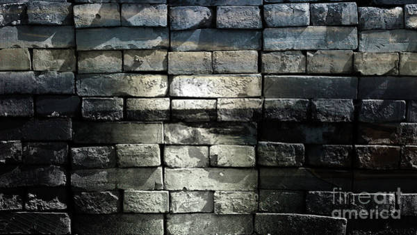 Photograph - Brick Wall by Jolanta Anna Karolska