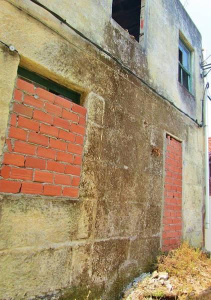 Ensenada Photograph - Bricked Up by Rosita Larsson