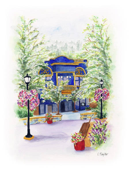 Painting - Brickroom On The Plaza by Lori Taylor