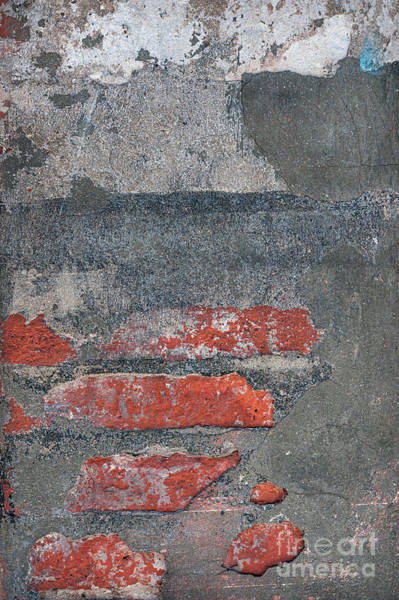 Cement Wall Art - Photograph - Bricks And Mortar by Elena Elisseeva