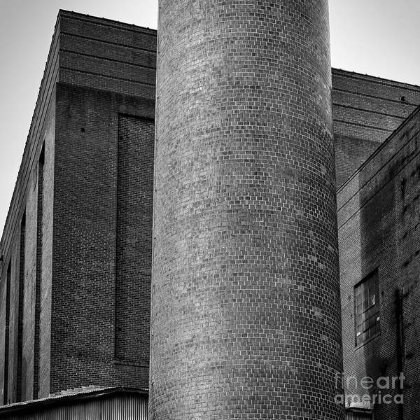Photograph - Bricks Of Bailey Bw by Patrick M Lynch