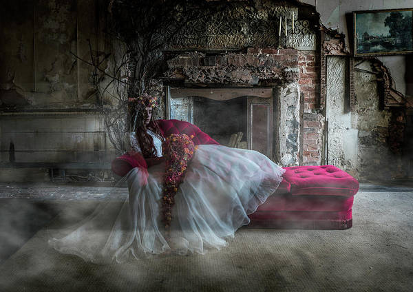 Photograph - Bridal Ghost by Maggie McCall