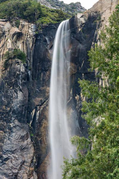 Bridal Photograph - Bridal Veil Falls by Bill Roberts