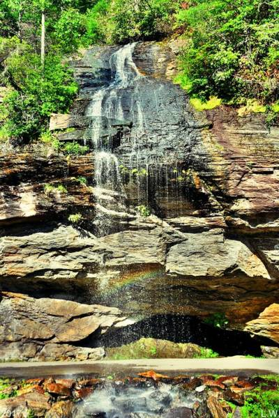 Photograph - Bridal Veil Falls Highland North Carolina 2 by Lisa Wooten