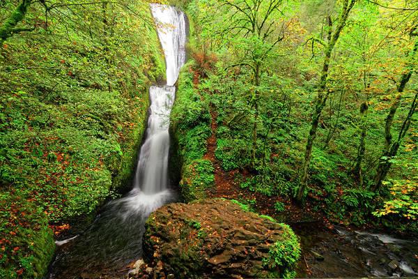 Photograph - Bridal Veil Falls by Jonathan Davison