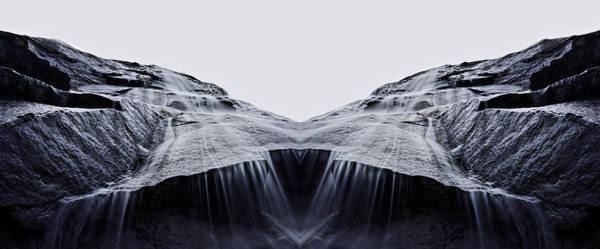 Bridal Photograph - Bridal Veil Falls Reflection by Pelo Blanco Photo
