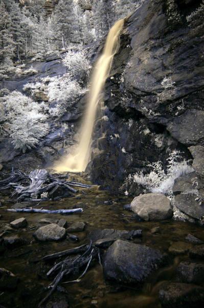 Wall Art - Photograph -  Bridal Veil Falls by Thomas Bomstad