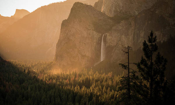 Photograph - Bridal Veil Sunrise by Kristopher Schoenleber