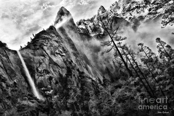 Photograph - Bridalveil Fall Yosemite Morning by Blake Richards