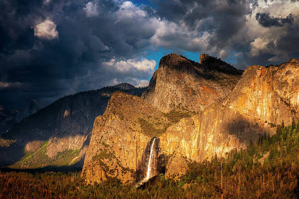 Wall Art - Photograph - Bridalveil Falls by Andrew Soundarajan