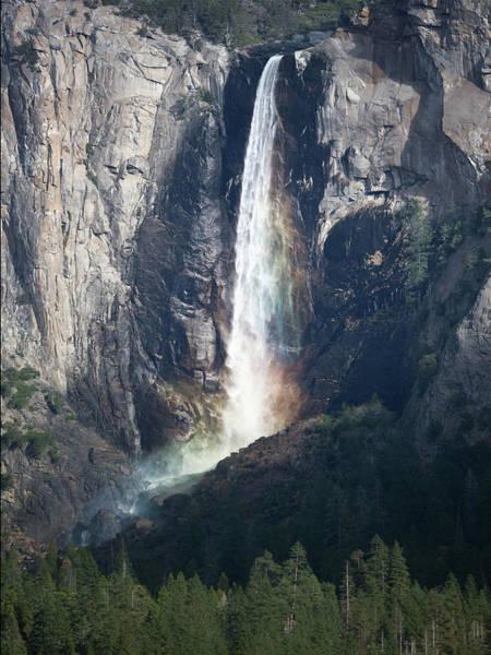Digital Art - Bridalveil Falls. Yosemite California by OLena Art Brand