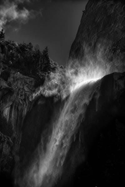Wall Art - Photograph - Bridalveil Falls-yosemite by Jim Dohms