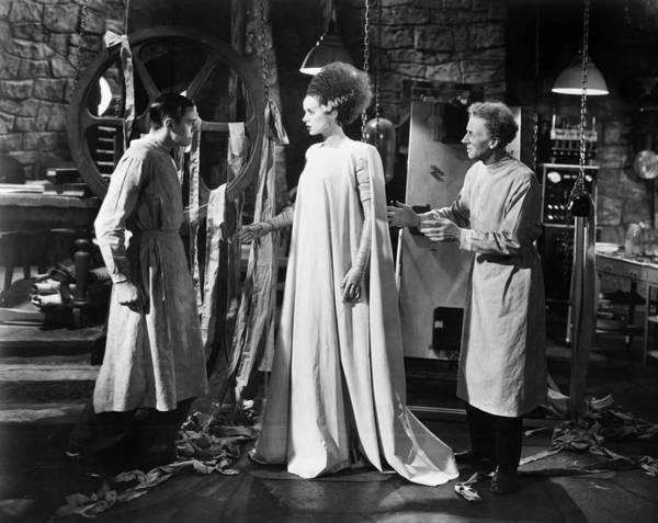 Photograph - Bride Of Frankenstein by Granger