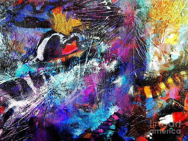 Dominate Painting - Bridge Across by Expressionistart studio Priscilla Batzell