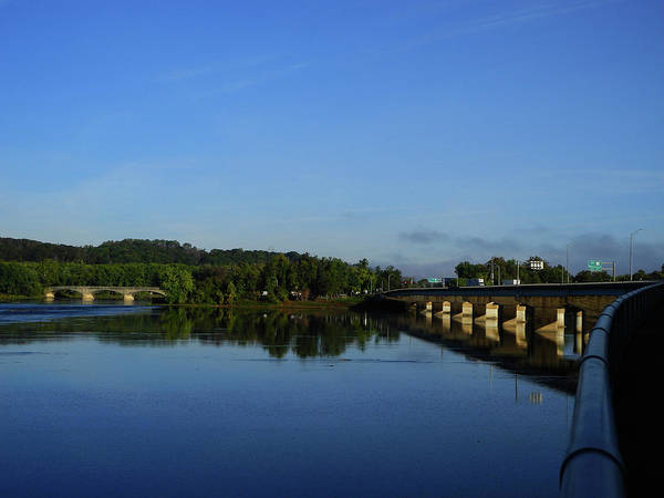 Photograph - Bridge Across The Susquehanna River 2 by Raymond Salani III