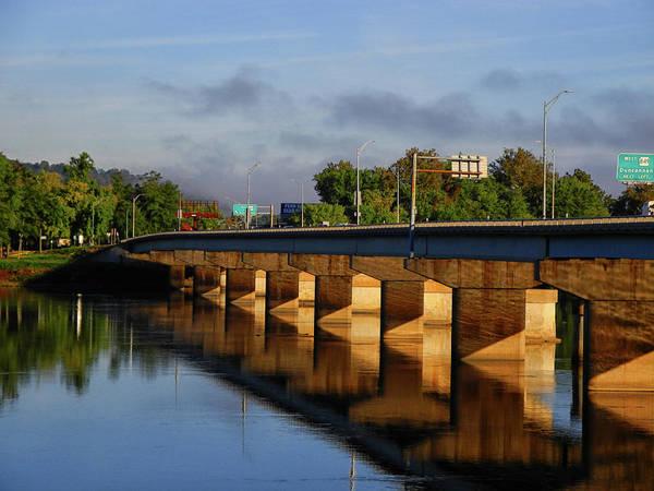 Photograph - Bridge Across The Susquehanna River by Raymond Salani III