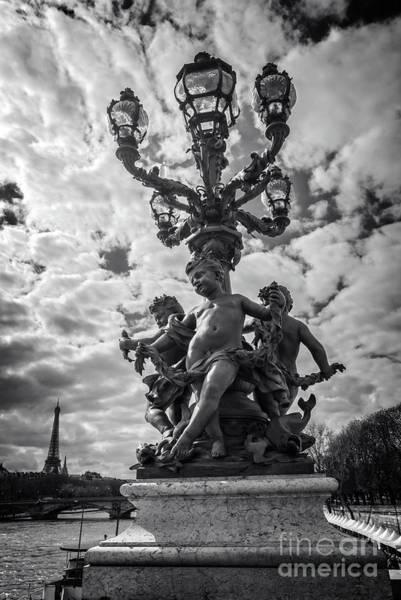 Alexandre Photograph - Alexandre IIi Bridge by Delphimages Photo Creations