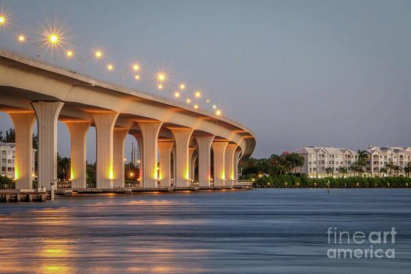 Photograph - Bridge And Condo's by Tom Claud