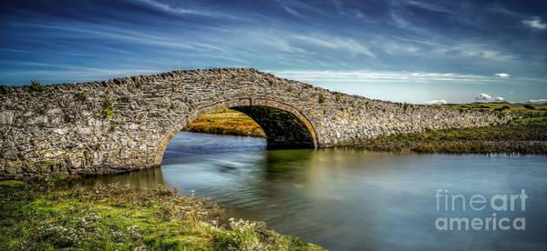 Bridge Bank Photograph - Bridge At Aberffraw by Adrian Evans