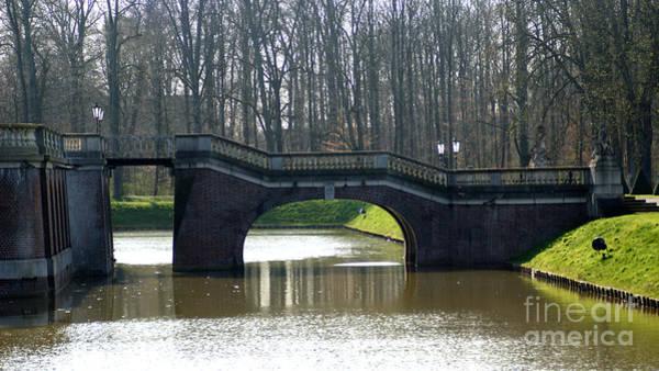Photograph - Bridge At Castle Nordkirchen by Eva-Maria Di Bella